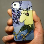 Sunday Moose iPhone Case