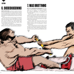 Illustrations for BODY Magazine